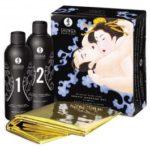 Shunga Body Slide Massage Gel Set 2 x 225 ml