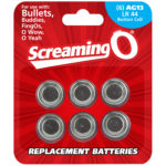 Screaming O Batterier AG13 LR44 6-pack
