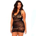 Leg Avenue Nät Miniklänning Plus Size