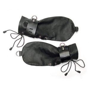 Kinklab Bondage Handskar av Läder